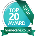 Homecarepreferred Top 20 Award 2020
