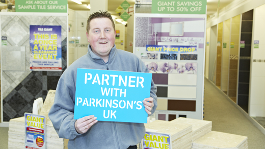 partner with parkinsons