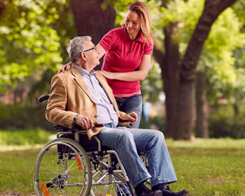 For the person who is considering being admitted to a care home